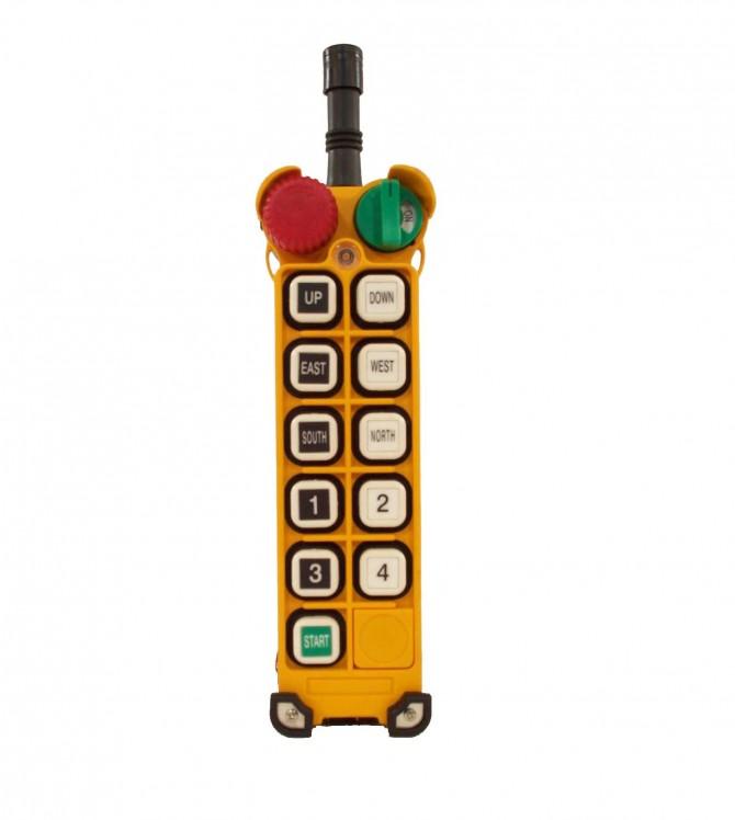 ریموت کنترل ده کلید دو سرعته F24-10D